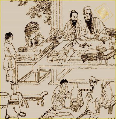 古代煮茶步骤图解
